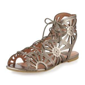 Joie Teagan Laser Cut Gladiator Sandals